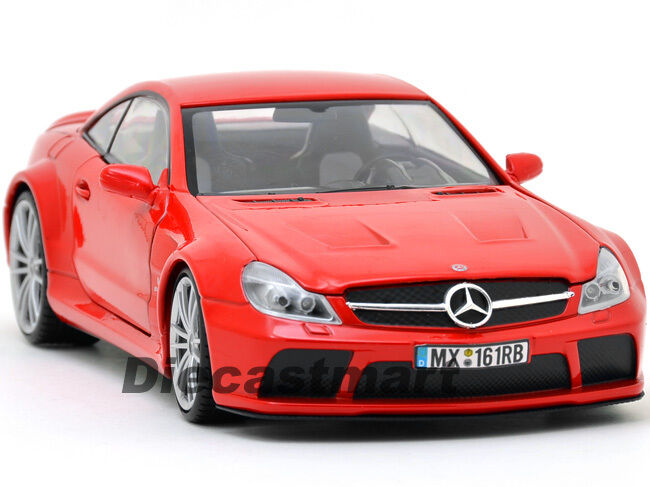 Motormax 79161 1 18 mercedes benz sl65 amg black series for Diecast mercedes benz