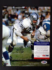 JIM OTTO Signed 8x10 Raiders Photo Inscribed 00 HOF 1980 PSA/DNA Certified Auto