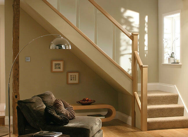 Reflections Glass And Oak Stair Amp Landing Balustrade Stair