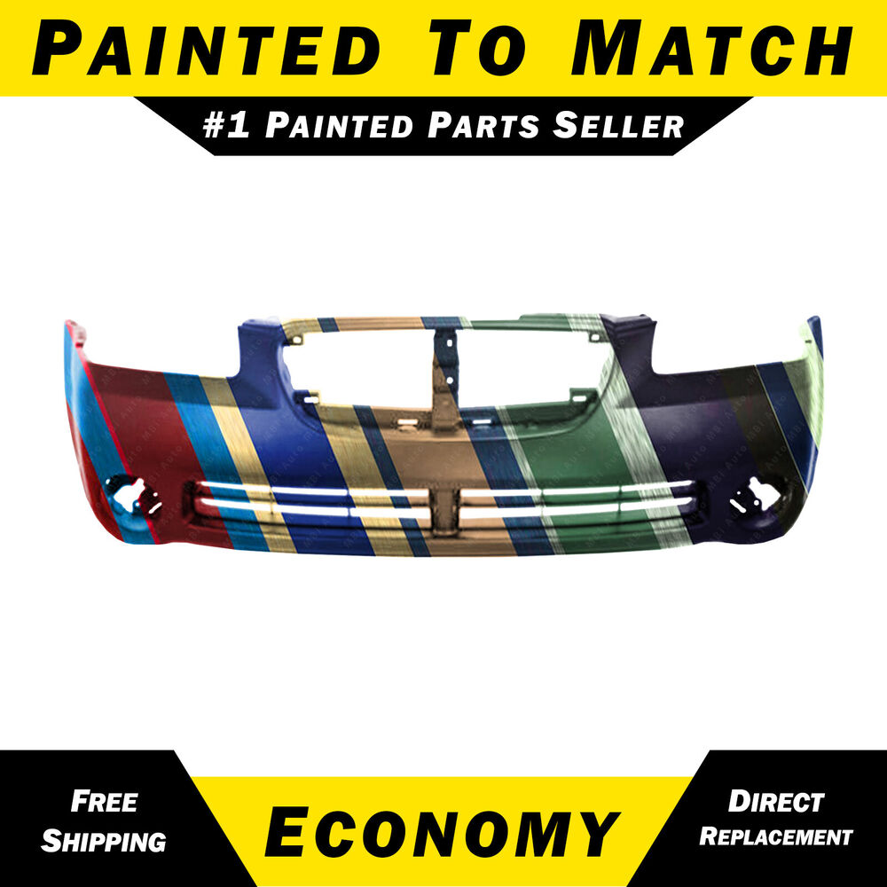 New Painted To Match Front Bumper Cover Fascia For 2002
