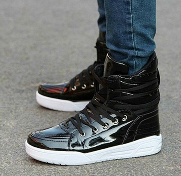 2013 fashion hot korean mens sneakers short boots leisure