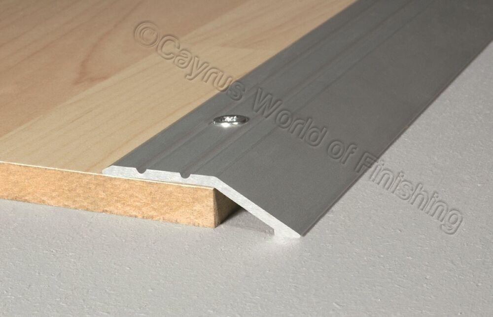 Anodised Aluminium Door Floor Bar Edge Trim Threshold Ramp