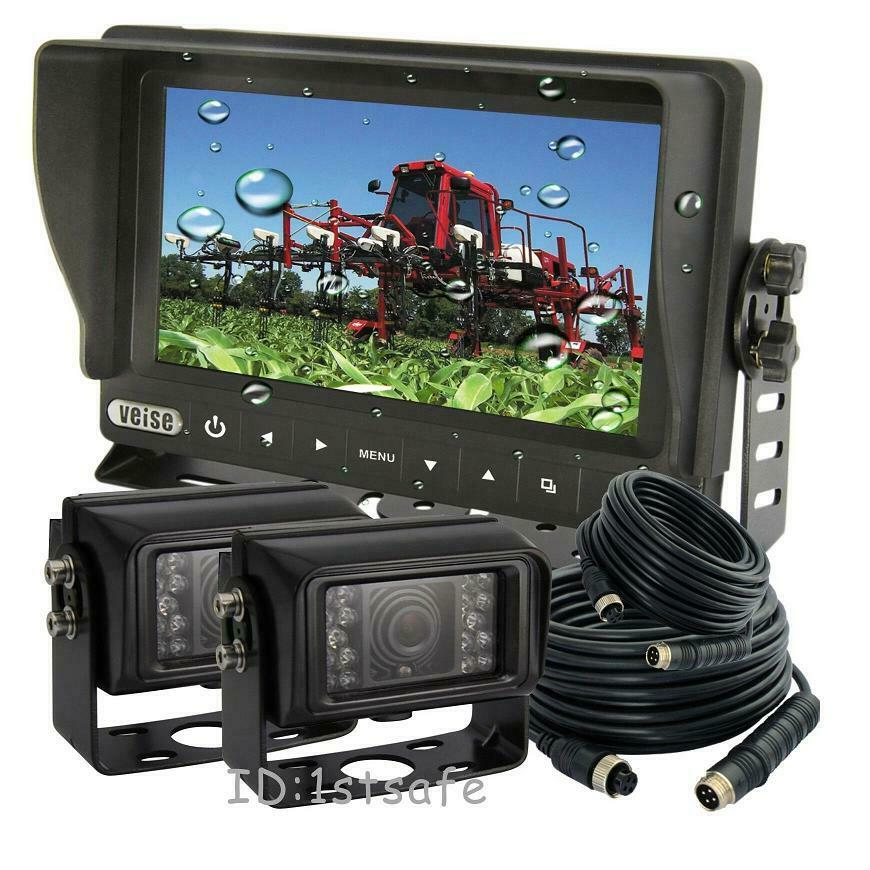 "Wireless Backup Camera For Truck >> 7"" DIGITAL REAR VIEW BACK UP CAMERA SYSTEM, WATERPROOF ..."
