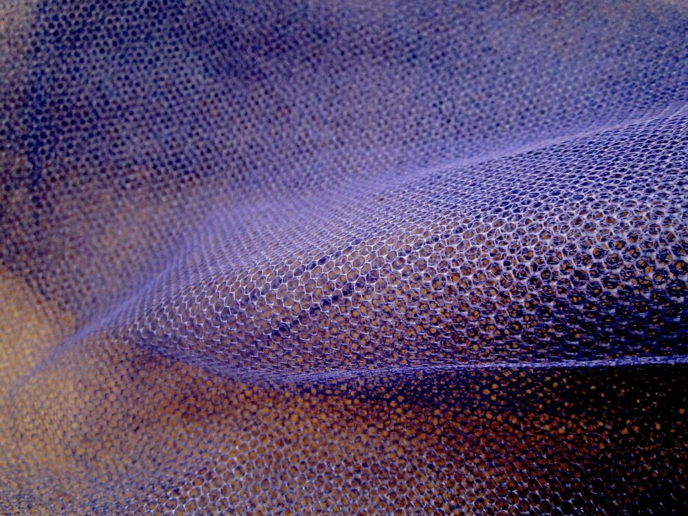 2 Yds-Wonderful PURPLE HEXAGON TULLE Netting Fabric-70/72 ...