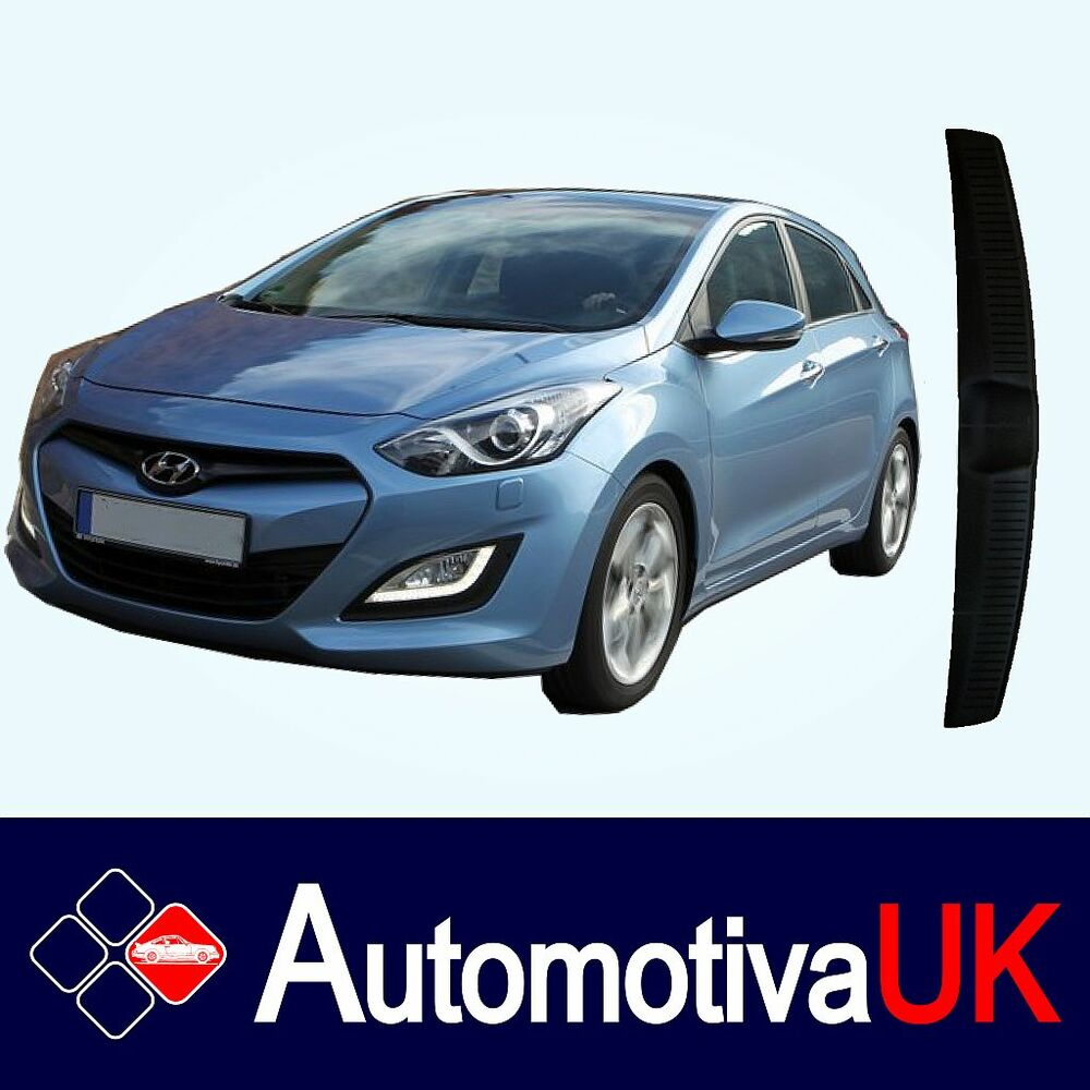 hyundai i30 mk2 rear guard bumper protector ebay. Black Bedroom Furniture Sets. Home Design Ideas