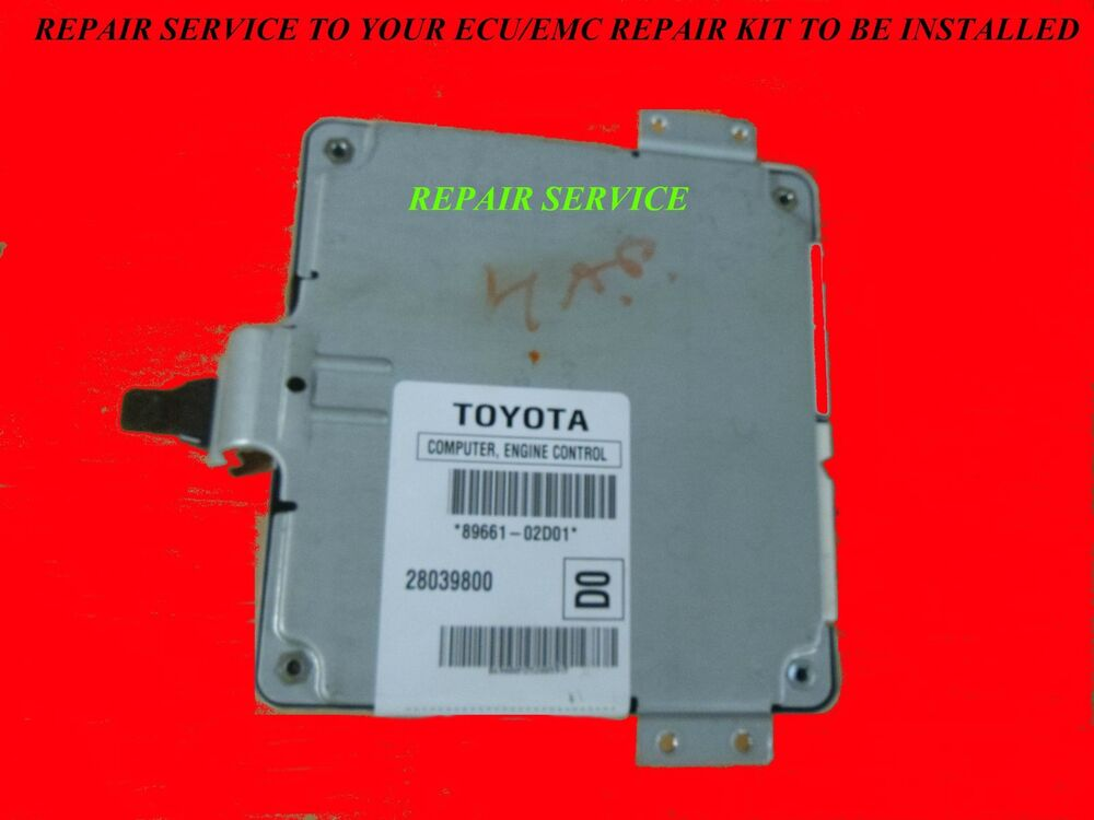 2006 Toyota COROLLA Engine Computer ECM REPAIR KIT WE
