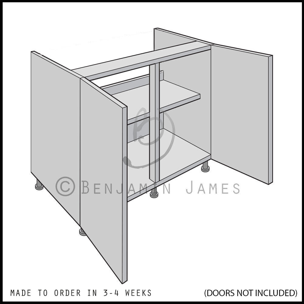 kitchen cabinet carcass kitchen carcass unit hi line sink hob base cabinet 18299