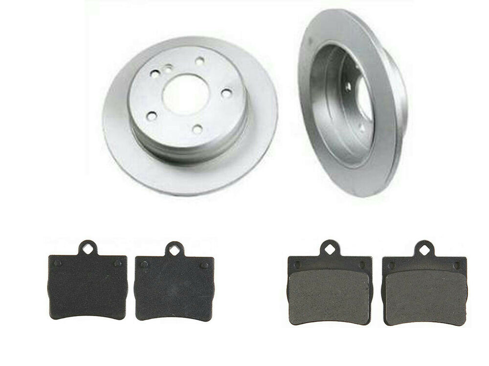 1997 1998 mercedes c230 rear brake rotors pads 34092 for Mercedes benz rotors and pads