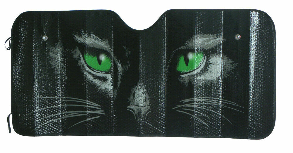 Cat Eyes Sun Shade Car