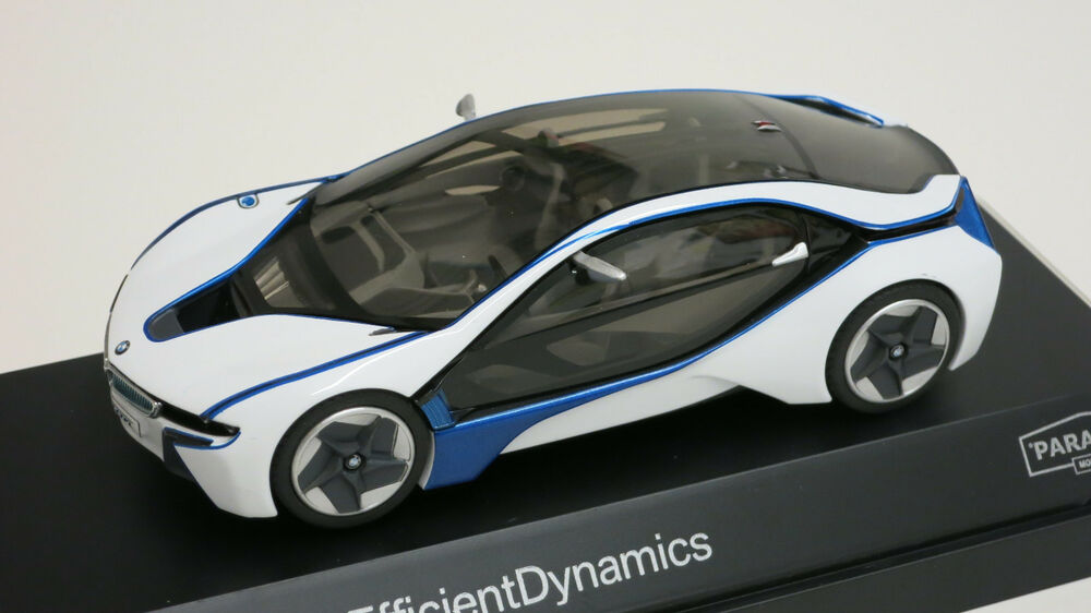 paragon 1 43 bmw vision efficient dynamics ev diecast replica car 91021 ebay. Black Bedroom Furniture Sets. Home Design Ideas