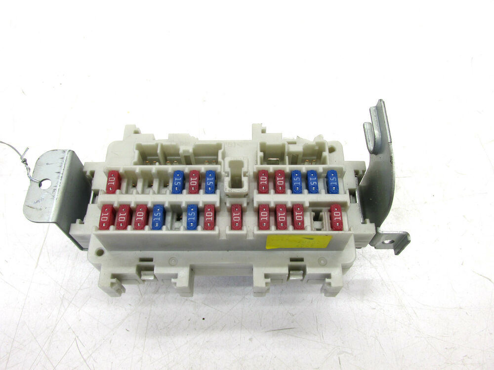 infiniti 3 g35 fuse box 2003-2004 infiniti g35 coupe oem left front under dash ...