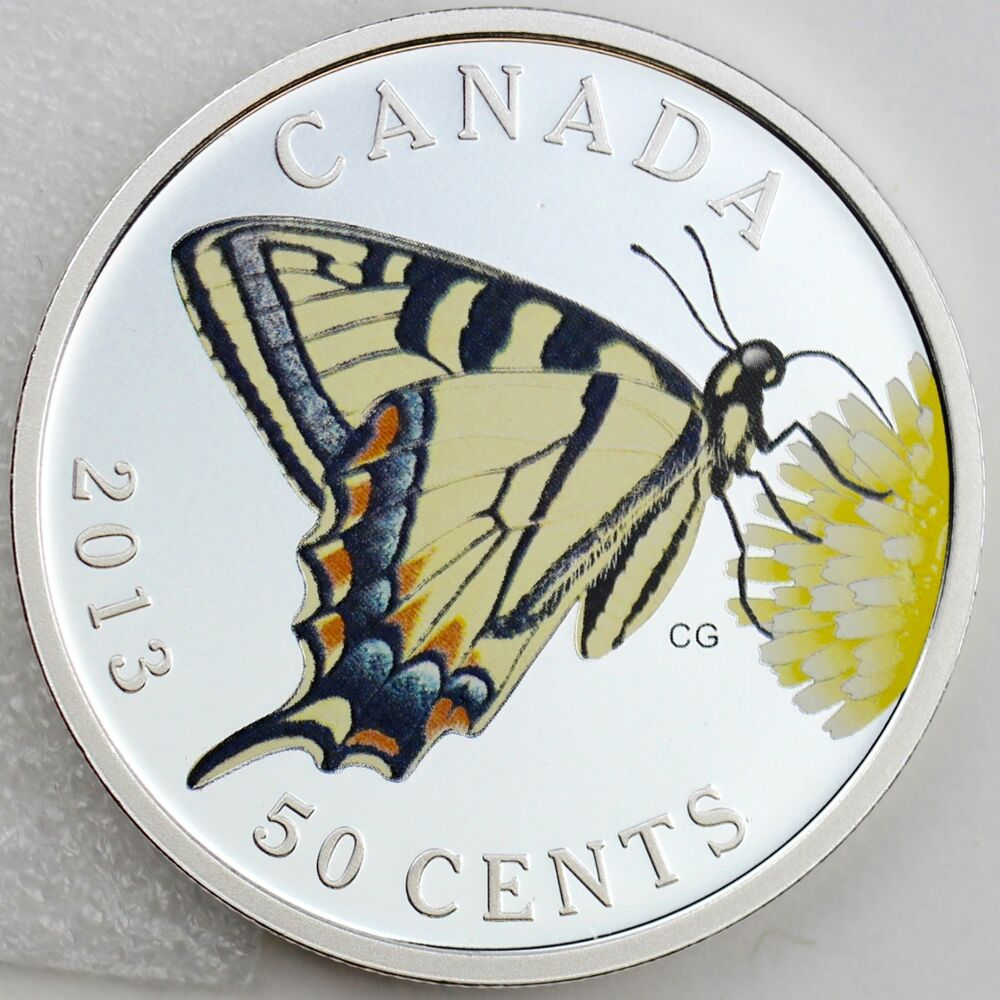 2013 Canadian Tiger Swallowtail Butterflies Of Canada