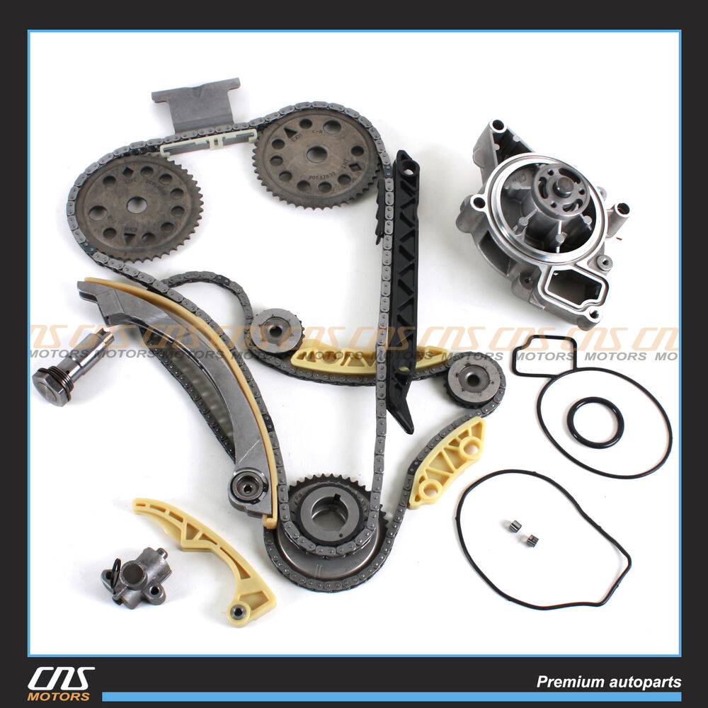 Timing Chain Balance Shaft Water Pump Kit For Gm Saturn Chevrolet Pontiac G6 2 4 Engine Diagram 20l 22l 24l Ebay