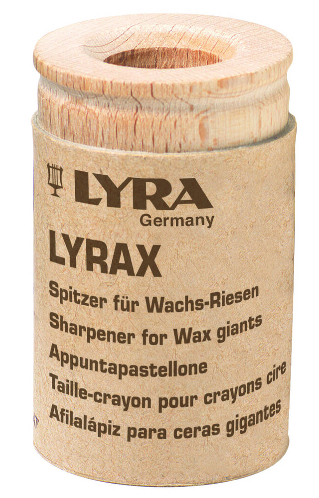 lyra pro natura spitzer f r wachs riesen bis 16 mm anspitzer holz stifte ebay. Black Bedroom Furniture Sets. Home Design Ideas