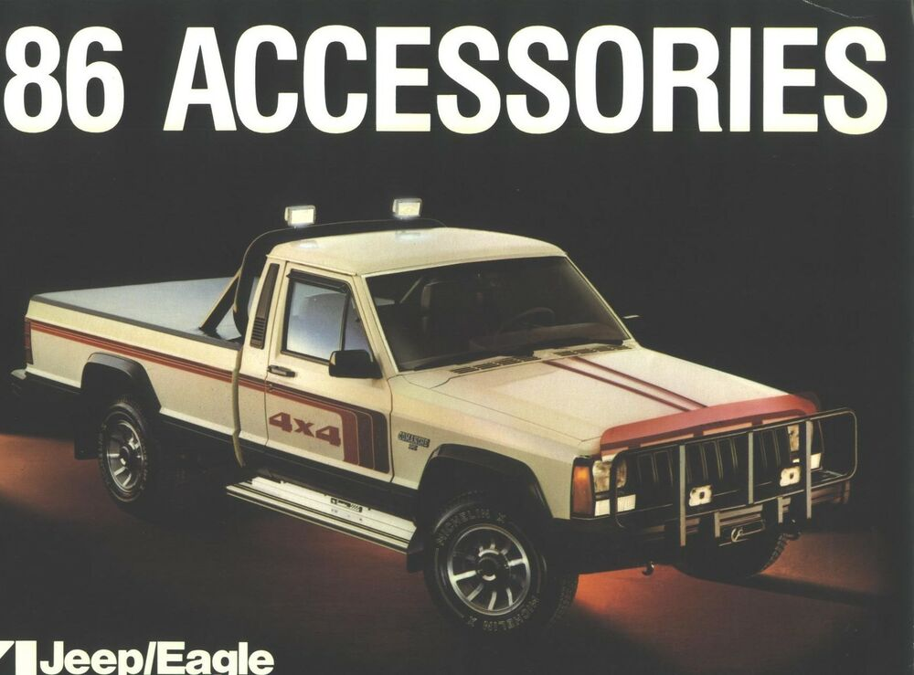 1986 amc jeep eagle accessories catalog ebay. Cars Review. Best American Auto & Cars Review