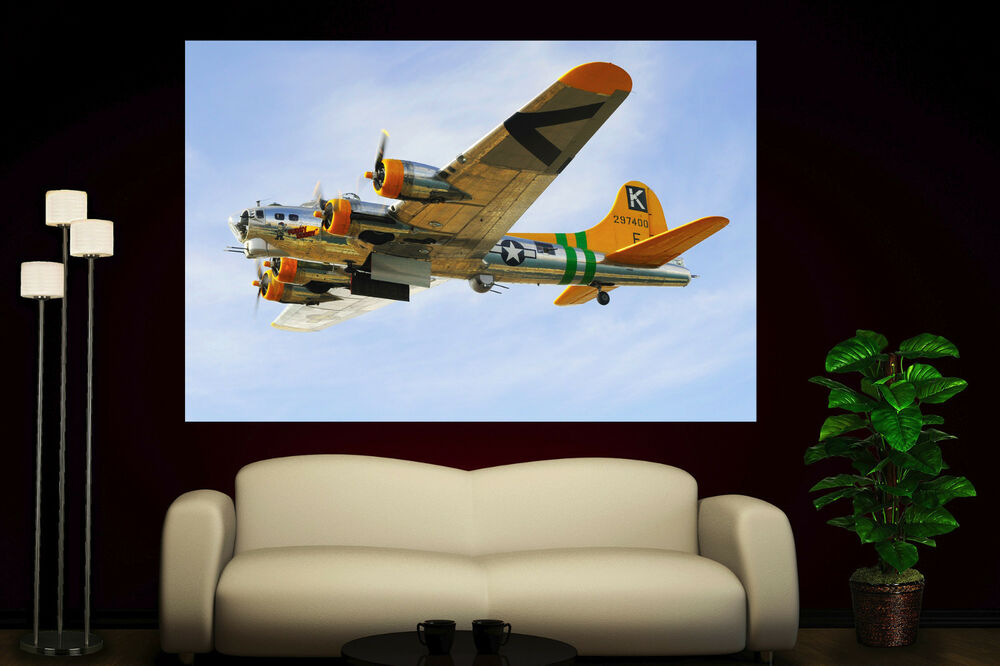 wall art propeller airplane canvas print picture prints propellers decor ebay. Black Bedroom Furniture Sets. Home Design Ideas