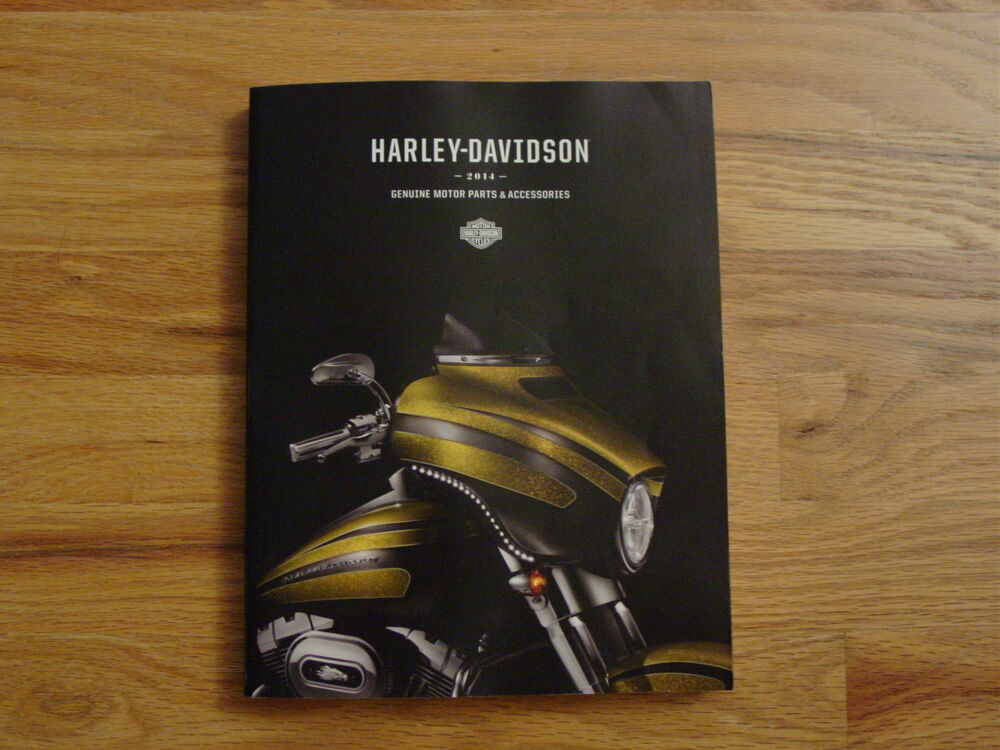 2014 Harley Davidson Parts and Accessories Catalog-BRAND ...