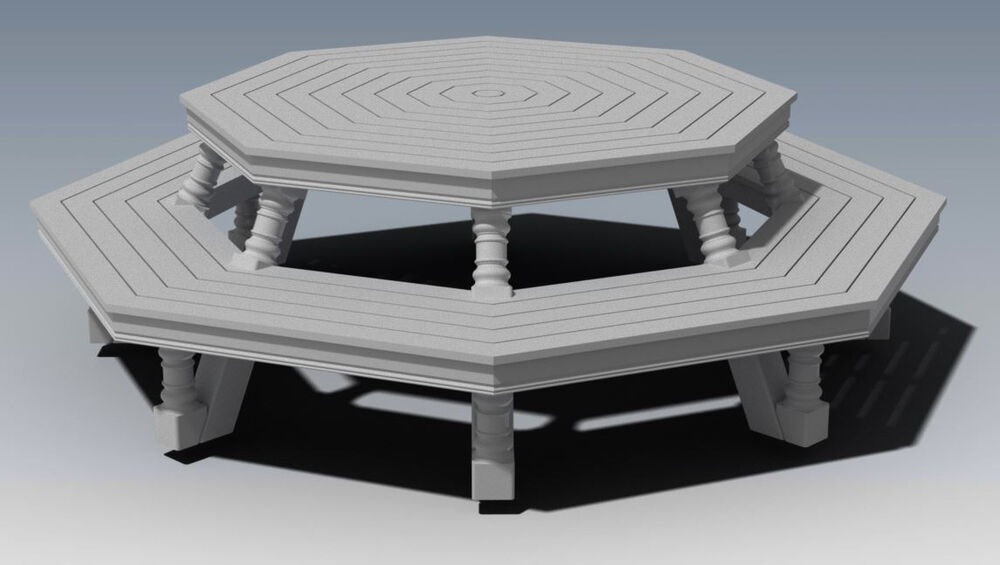 ... OUTDOOR TIMBER TABLE & CHAIR - UNIQUE DESIGN V1 - Full Building Plans
