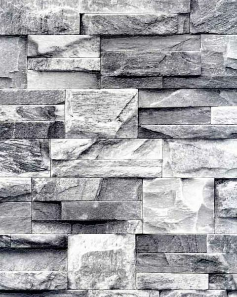 galerie bluff textured feature wallpaper 3d brick slate