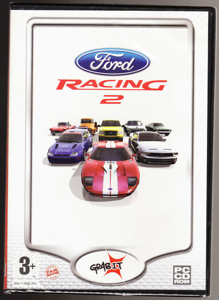 FORD RACING 2 CAR RACING GAME NEW & SEALED PC CD ROM