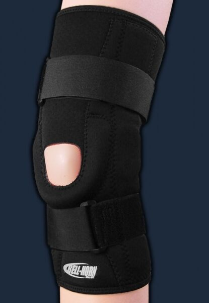 Brace Your Eyes The Most Beautiful Women On Earth: Hinged Knee Brace Patella Stabilizing Wrap Around Sports