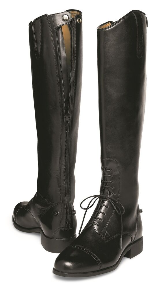 Ariat Women S Challenge Field Boot Back Zip Black
