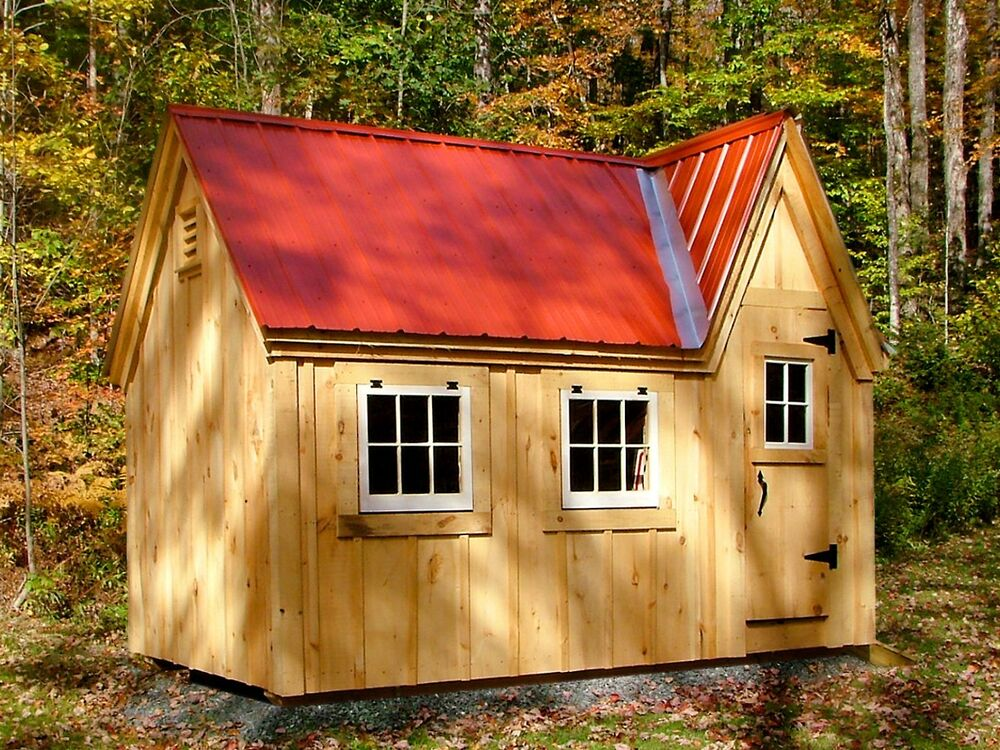 diy plans 8x12 doll house shed kids playhouse backyard