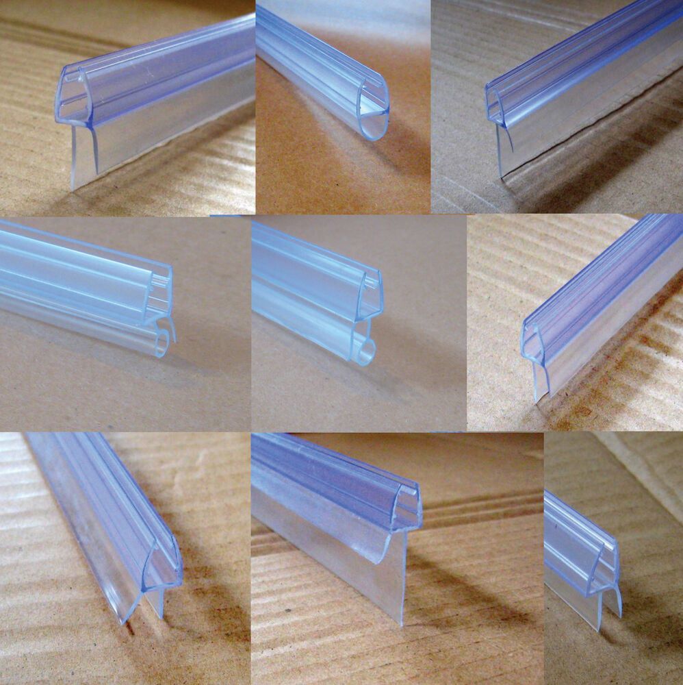 BATH DOOR SHOWER SCREEN SEAL for LSTRAIGHT or CURVED GLASS eBay - Bath Shower Door Seal