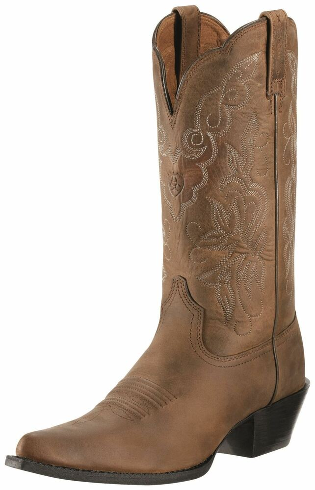 Ariat Women S Heritage Western J Toe Boots Distressed