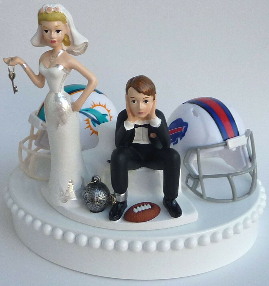 wedding cake toppers soccer wedding cake topper team rivalry house divided football 8839