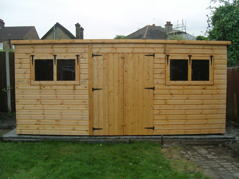 Garden shed 14 x 8 ebay for Garden shed 4 x 8