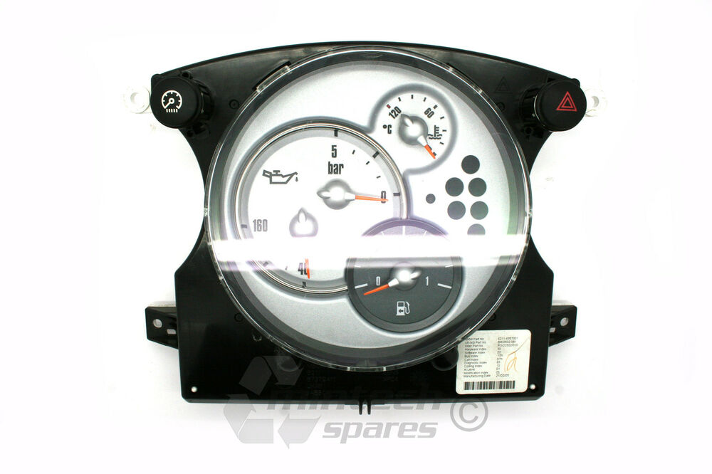 bmw mini one cooper s r50 r52 speedometer clocks. Black Bedroom Furniture Sets. Home Design Ideas