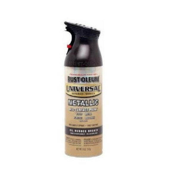 oz oil rubbed bronze metallic universal all surface spray paint ebay. Black Bedroom Furniture Sets. Home Design Ideas