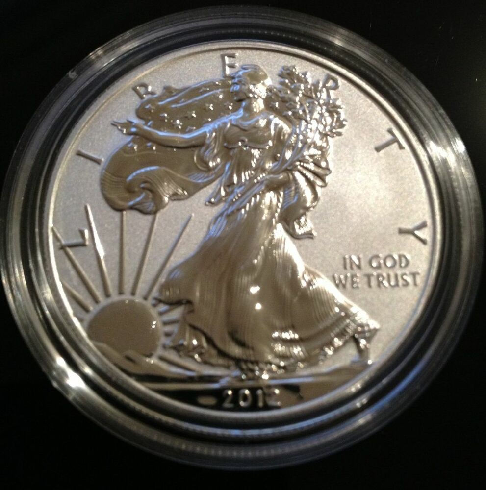 2012 S American Eagle Reverse Proof S Mint Mark 75th Anv