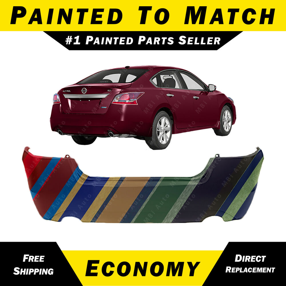 New Painted To Match Rear Bumper Cover For 2013 2014 2015 Nissan. New Painted To Match Rear Bumper Cover For 2013 2014 2015 Nissan Altima Sedan Ebay. Nissan. 2013 Nissan Altima Parts Diagram Certifit At Scoala.co