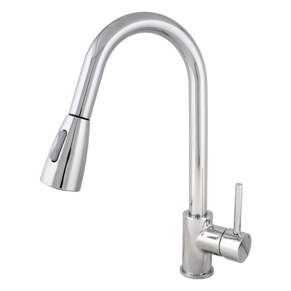 kitchen faucet with pull out sprayer new 16 quot chrome kitchen sink faucet pull out dual 27067