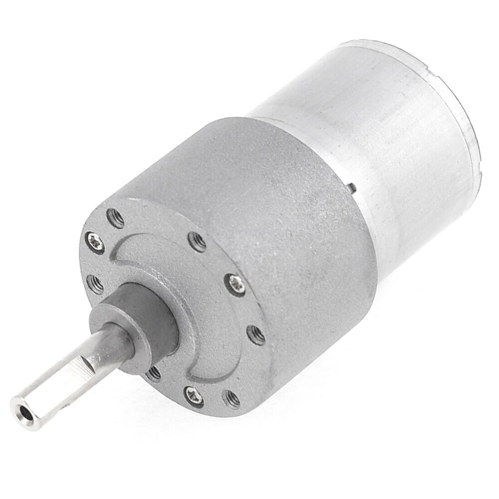 24vdc 120rpm 2 Terminals Speed Reducer Electric Geared