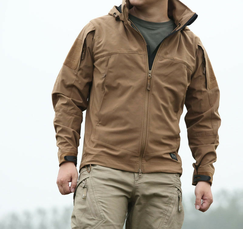 TACTICAL CITY SPECIAL SOFT SHELL JACKET All-WEATHER WATERPROOF ...