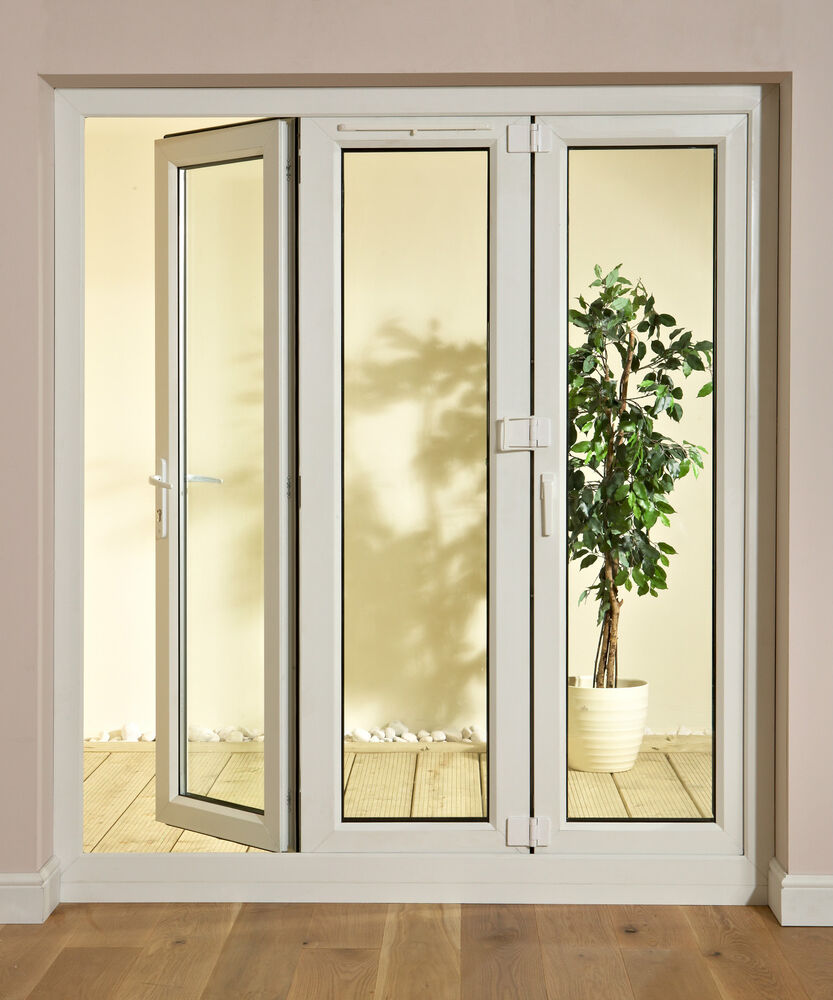 Upvc tri folding doors bi folding door sliding bi fold for Upvc folding doors
