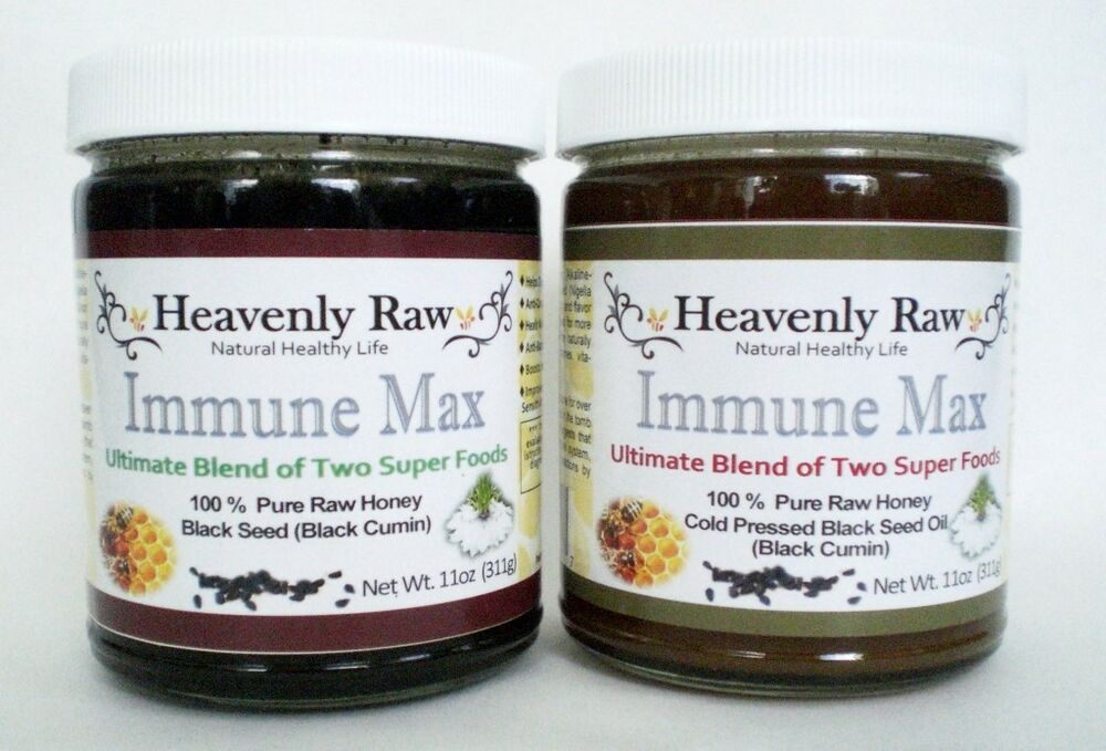 Honey and black seed oil