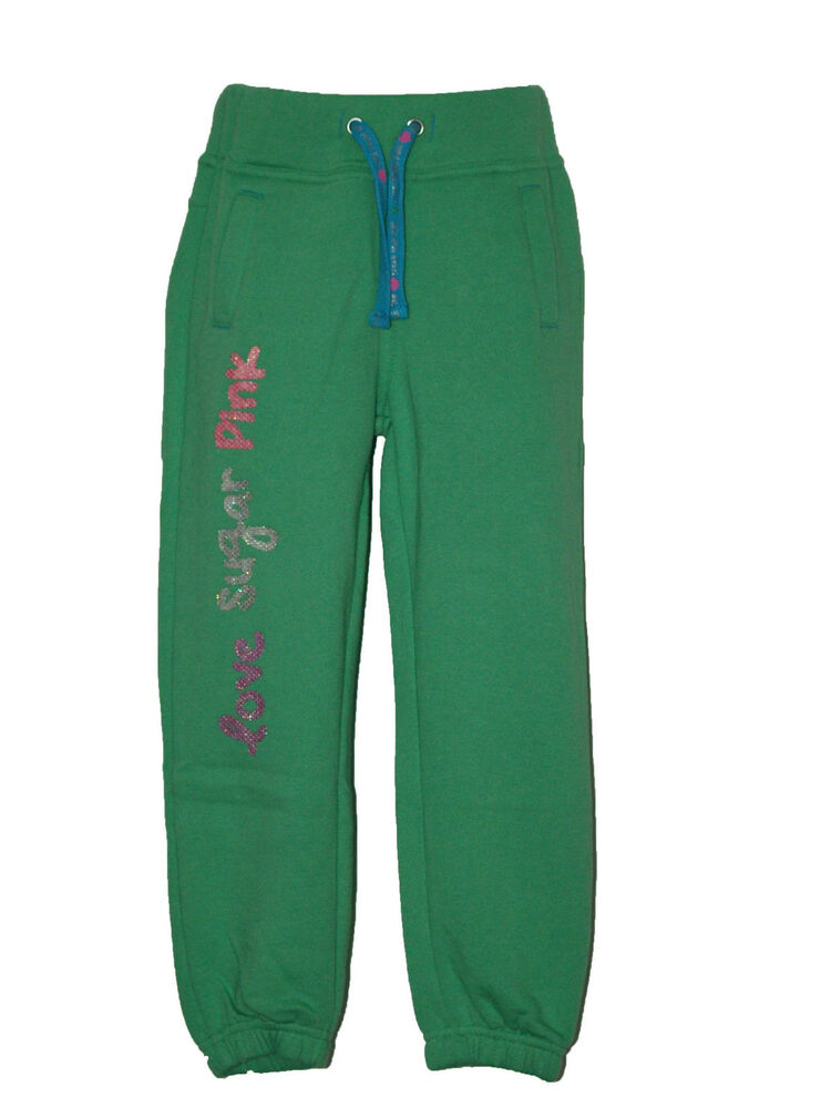 girl 39 s sugar pink jogging bottoms pants trousers 3 4 4 5. Black Bedroom Furniture Sets. Home Design Ideas