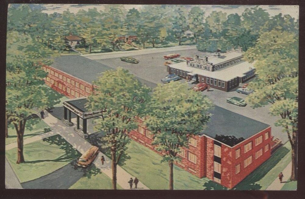 Postcard watertown new york ny carriage house motor inn for Town house motor inn