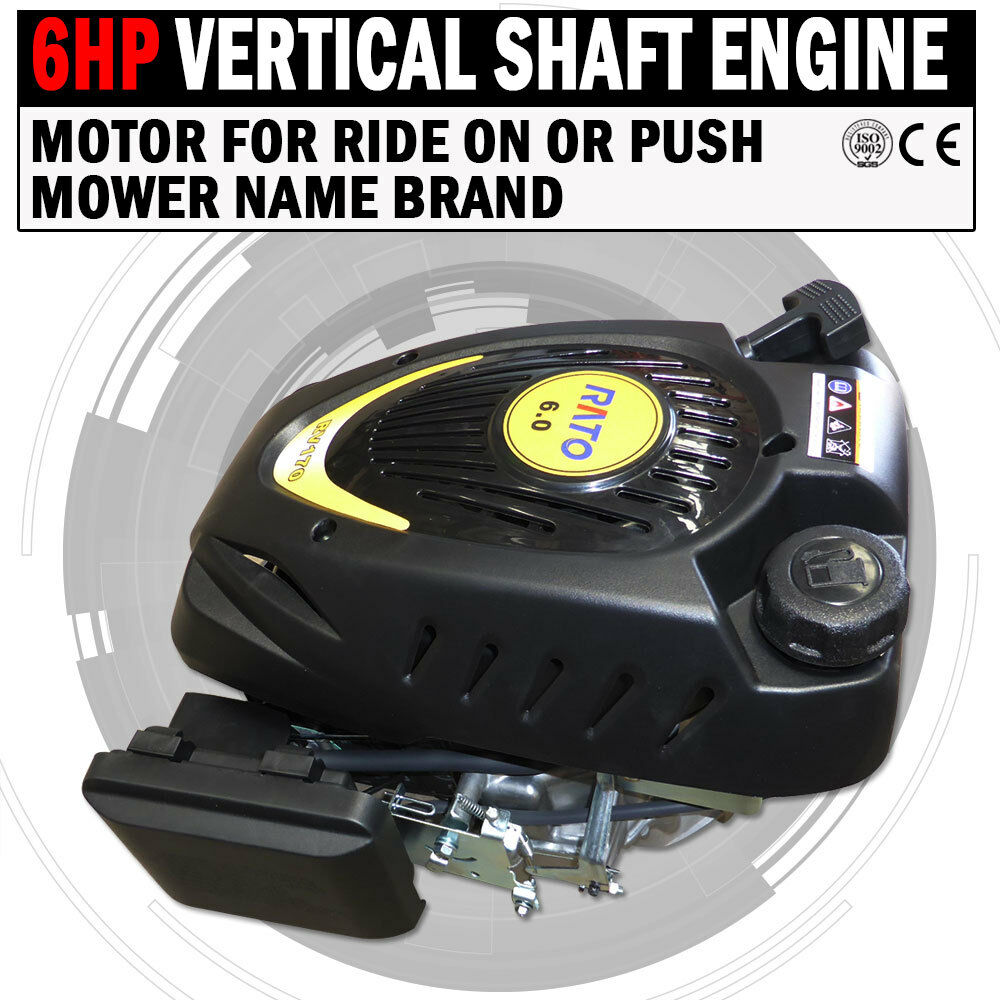 New 6hp Vertical Shaft Engine Motor For Ride On Or Push