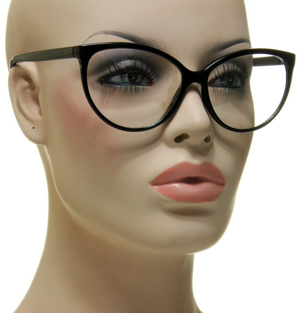 Glasses Frame For Thin Face : Smart & Sexy Lady Womens Cat Eye Medium Glasses Thin ...