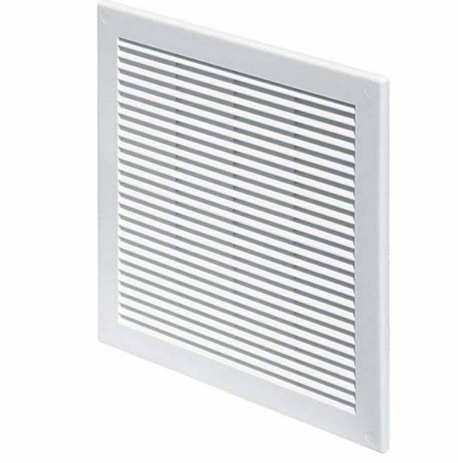 White Air Vent Grille 200mm X 250mm 8 X 10 Wall