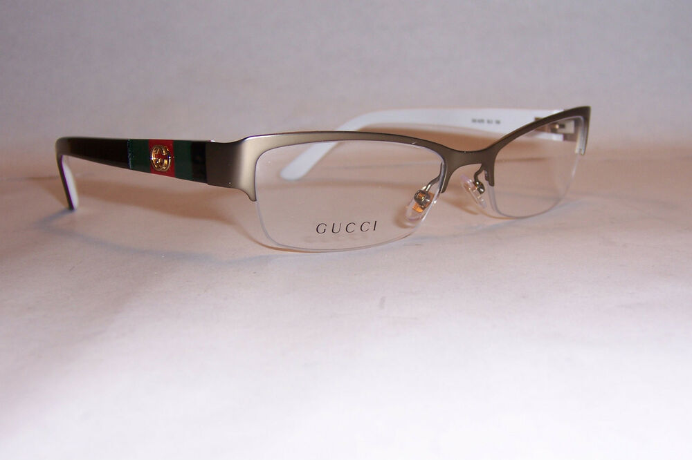 NEW GUCCI EYEGLASSES GG 4213 GG4213 5L3 BROWN GOLD 53mm RX ...