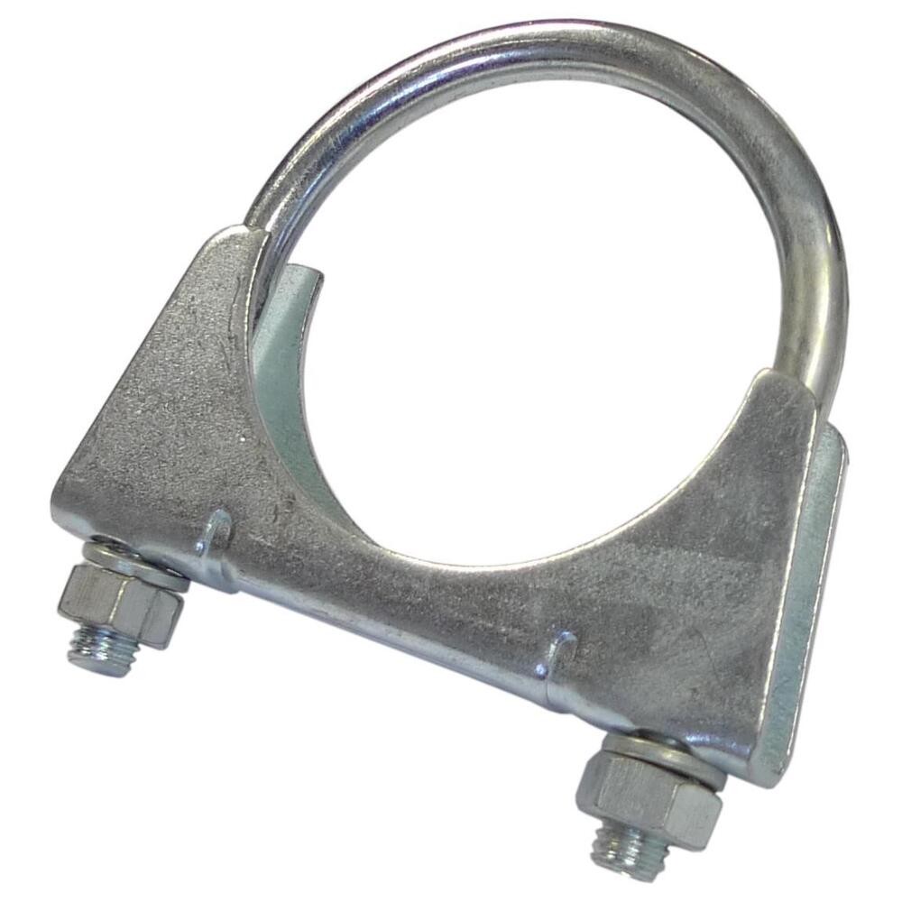 Exhaust Pipe Clamp M8 U Bolt Clamps With Nuts Mild Steel