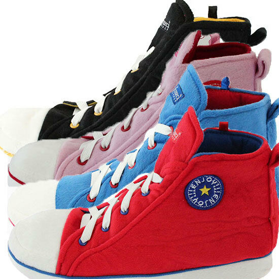 Unisex Mens Womens Chuck Taylor Converze Style Novelty Slippers