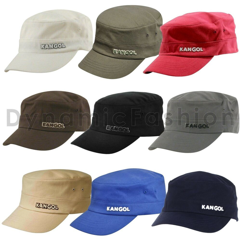 4c141f9667c17 Details about Authentic Mens KANGOL Army 9720BC Flexfit Cotton Twill Cap Hat  S M L XL XXL