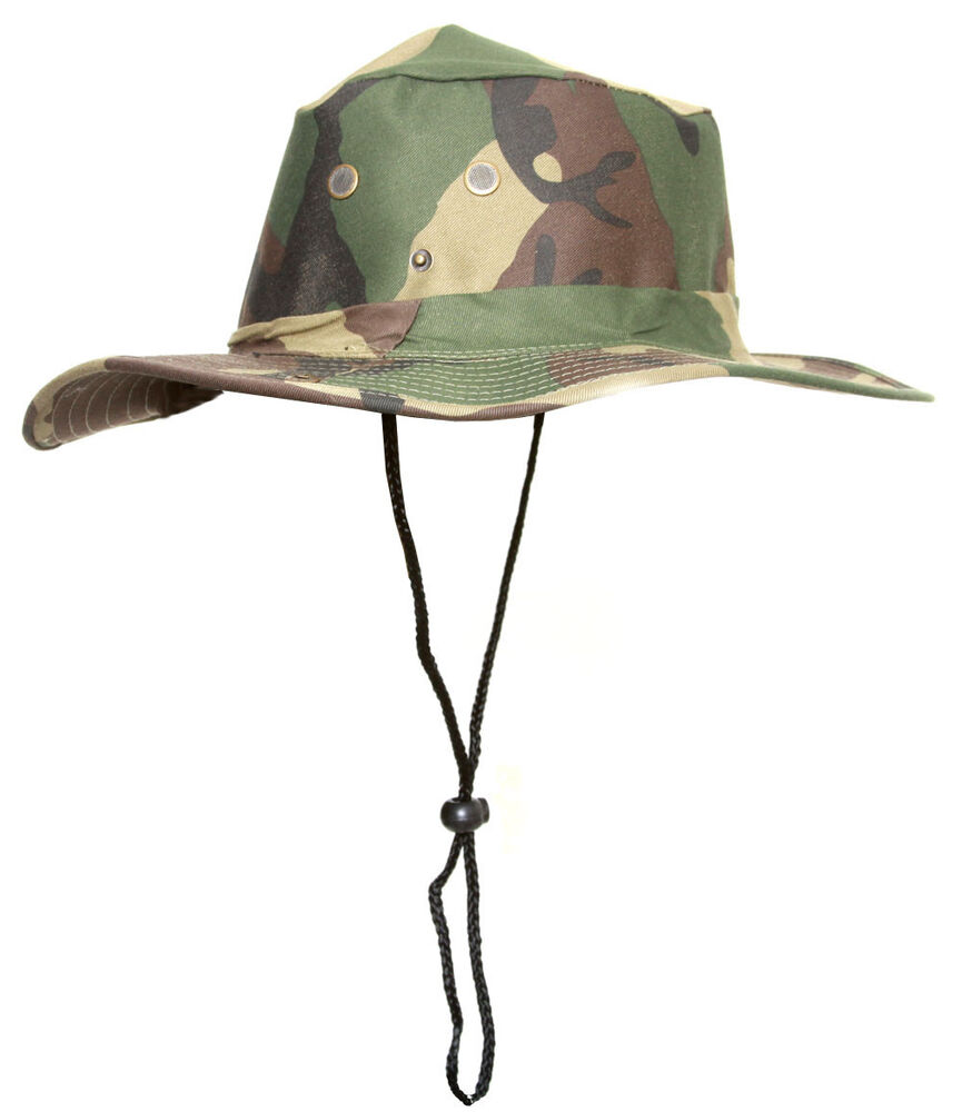 Topheadwear boonie camo style fishing bucket hat cap ebay for Fishing hats walmart